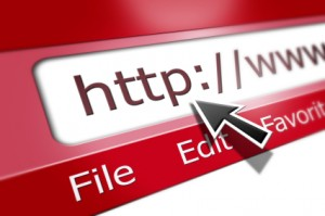 internet web address. If you can get to your site with a WWW and without it, they may be two different URLs.