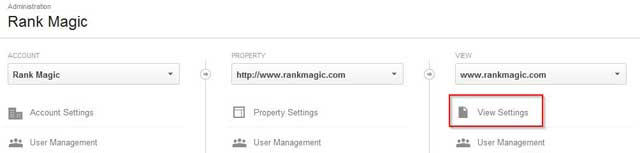 Google-Analytics-View-Settings