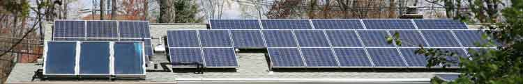 Rooftop solar paanels