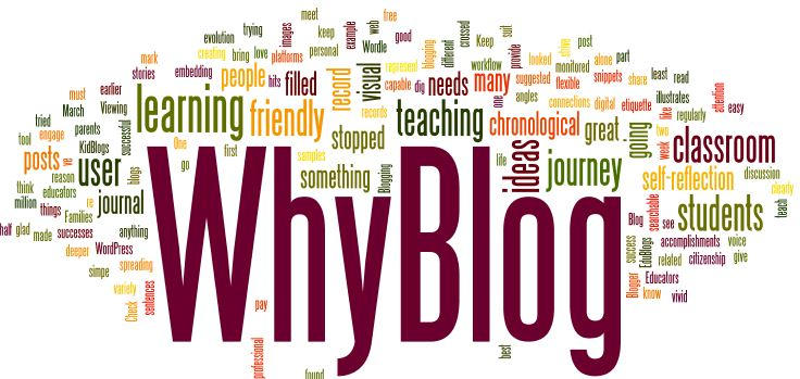 Why should I blog? Is it worth the time and trouble?