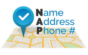 NAP - name,address & phone
