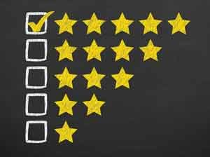 9 of 10 people trust online reviews. So does Google.