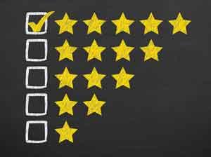 9 of 10 people trust online reviews.