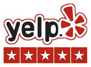 Third party reviews on sites like Yelp can help both your rankings and your conversions.