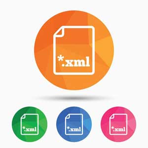 An XML sitemap may be one file or several.