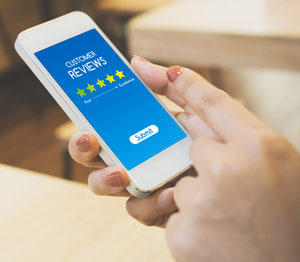 Online reviews and your responses to them can drive more sales.