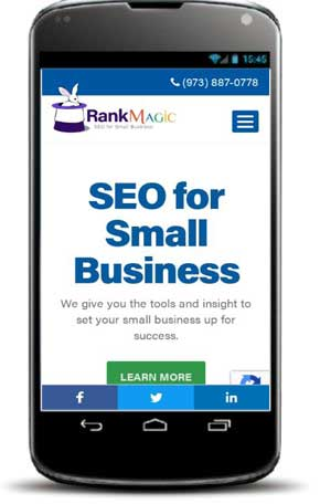 Your website needs to be mobile-friendly.