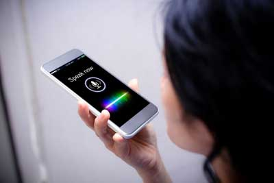 Most local searches are done via voice search on a phone.